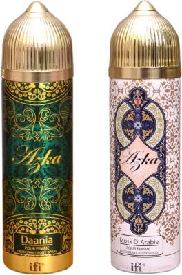 AZKA 1 DAANIA::1 MUSK D,ARABIE Deodorant Spray  -  For Men, Women