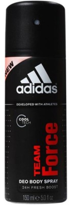 Adidas Team Force Body Spray - For Men(150 ml)