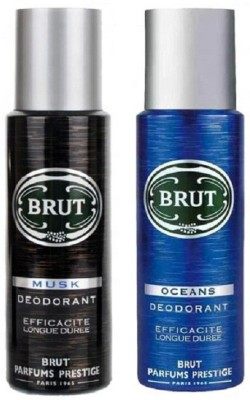 Brut Musk Oceans Body Spray  -  For Men