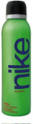 Nike Nike Man Green Deodorant Spray - For Men