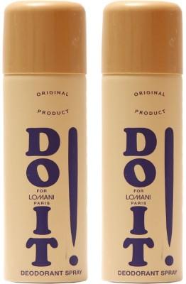 Lomani Do It Deodorant Spray  -  For Men, Women