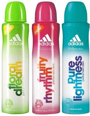 Adidas Floral Dream Fruity Rhythm Pure Lightness Body Spray  -  For Women