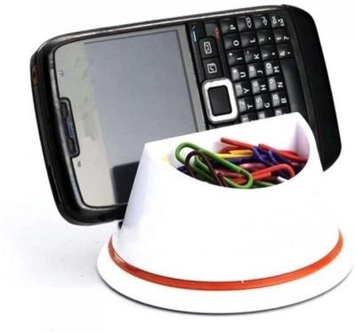 Power Plus Desk Organizer 1 Compartments Plastic Mobile Holder