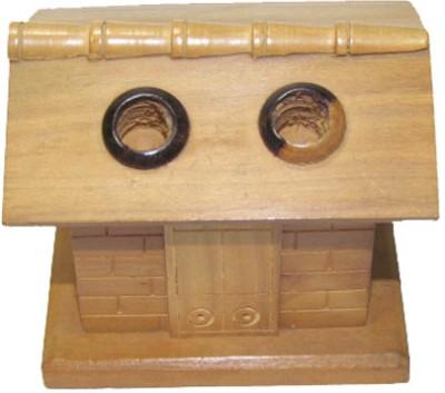 S C Handicrafts Pens 2 2 Compartments Wooden Pen Holder