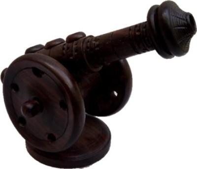 JaipurCrafts Designer 2 Compartments Wooden Pen Stand