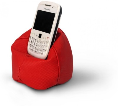 Happily Unmarried Bean Bag 3 Compartments Rexine Mobile Holder