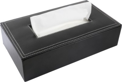 Umda 1 Compartments Faux Leather Tissue Box And Tissue Paper Holder 200+ Tissue,s