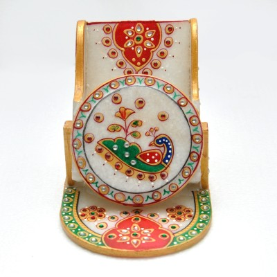Gaura Art & Crafts 1 Compartments wooden Mobile Holder