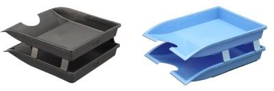 Solo Corporate Series 2 Compartments Plastic Multipurpose Tray
