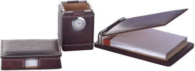 Leatherman 1 Compartments Leather desk set