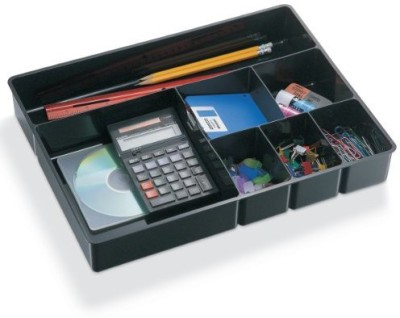 Officemate International 7 Compartments Plastic Deep Drawer Tray