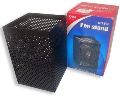 Deli 1 Compartments Metal Pen Stand