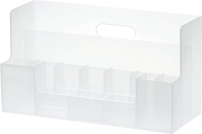 Howards 8 Compartments Plastic Desk Organizer
