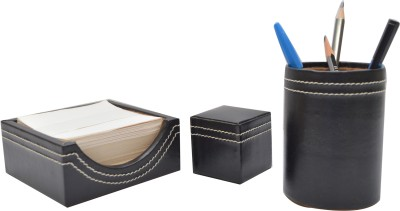 Knott 1 Compartments Leather Slip Holder::Tumbler::Paper Weight
