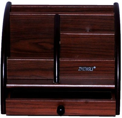 Univocean 7 Compartments Wooden Multi purpose