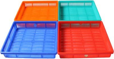 Chetan Office Trey 1 Compartments Plastic Letter Holder