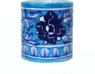 Aurea 1 Compartments Blue Pottery, Ceramic Multipurpose Holder