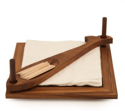 Onlineshoppee 1 Compartments Wooden Napkin Holder