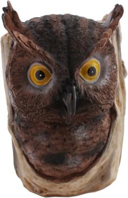 Tootpado 1 Compartments Resin Owl Bird Design Pen Stand