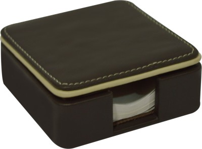 Knott Executive 1 Compartments Faux Leather Plain Slip Holder with Slips