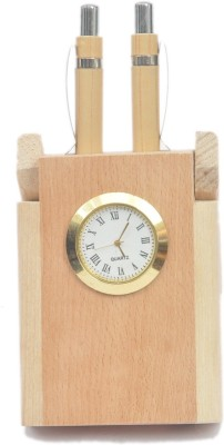 Artist Haat RWA0086 1 Compartments Wood Pen Holder