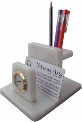 Niksang Arts 2 Compartments Marble Penstand