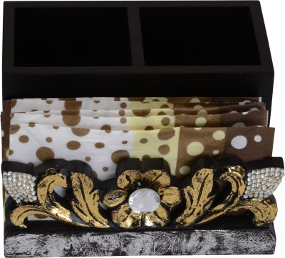 Aradhana Arts Trendy 3 Compartments Wood Utility Decoratives