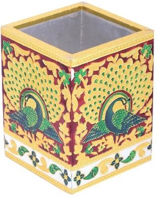 Sheela's Arts&Crafts SH1069 1 Compartments wood Pen Stand