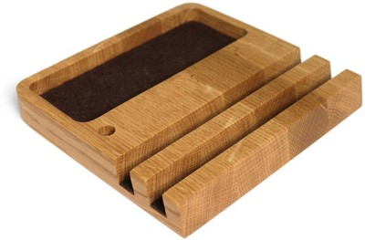 Saaheli 1 Compartments Wood Desk Organizer