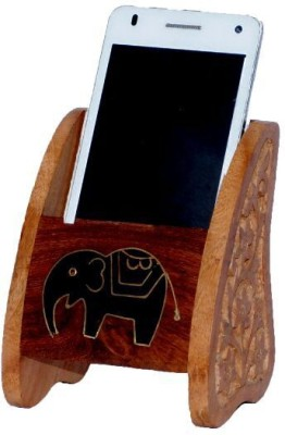 Univ 1 Compartments Wooden Mobile Stand