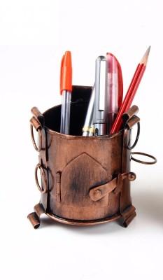 MohanJodero 1 Compartments Iron Pen Holder/ Pen Stand