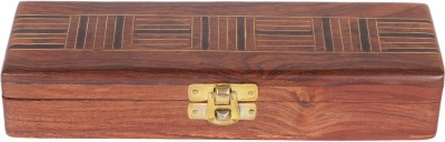 Craft Art India 1 Compartments Wooden Pen Holder