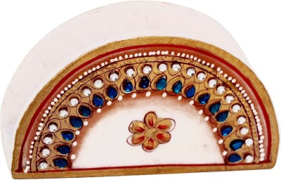 Handicrafts Paradise 1 Compartments Marble Tissue Paper Holder