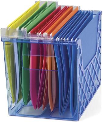 Officemate International 1 Compartments Plastic Desktop File Organizer