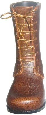 ShopnGift Boot 1 Compartments Faux Leather Pen Stand