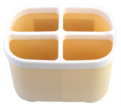 KM 4 Compartments Plastic Multipurpose Storage Container Stand