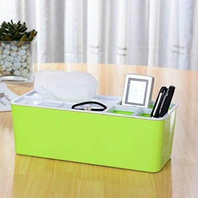 Inventure Retail 4 Compartments PLASTIC Tissue Box