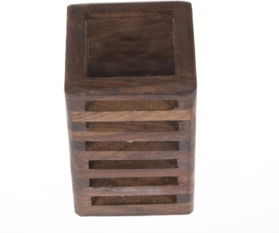 Urban Monk Creations Classic 1 Compartments Wood Pen Stand