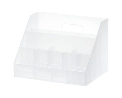 Howards 7 Compartments Plastic Desk Organizer