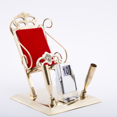 Urban Monk Creations classic 1 Compartments Brass Mobile Stand