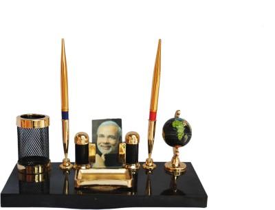 Kebica Executive Series 6 Compartments Plastic Pen Stand
