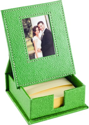 Ecoleatherette Slip Box with Frame 1 Compartments Leatherette Desk sets