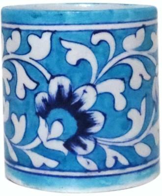 Aurea 1 Compartments Blue Pottery, Ceramic Mutlipurpose Holder