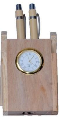 Univocean 1 Compartments Wooden Pen Stand