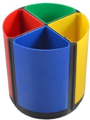 Phoenix Jaiam 4 Compartments Plastic Pen Stand