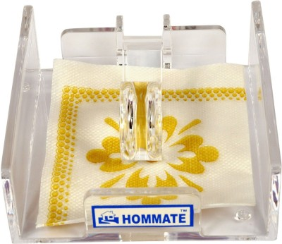Hommate 1 Compartments Acrilic Tissue Holder