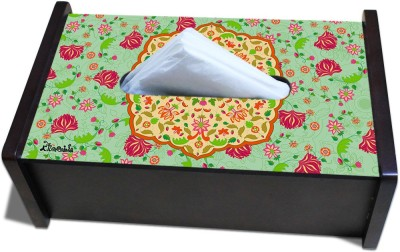 Kolorobia Wooden 1 Compartments Wood Tissue Box