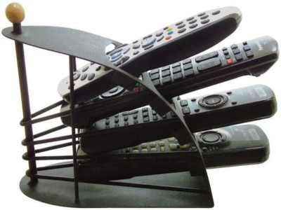 Gade 4 Compartments Metal Remote Holder
