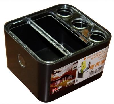 KM 5 Compartments Plastic Multipurpose Storage Stand Holder