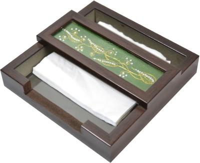 SPECTRAHUT 1 Compartments Acrylic Napkin Holder